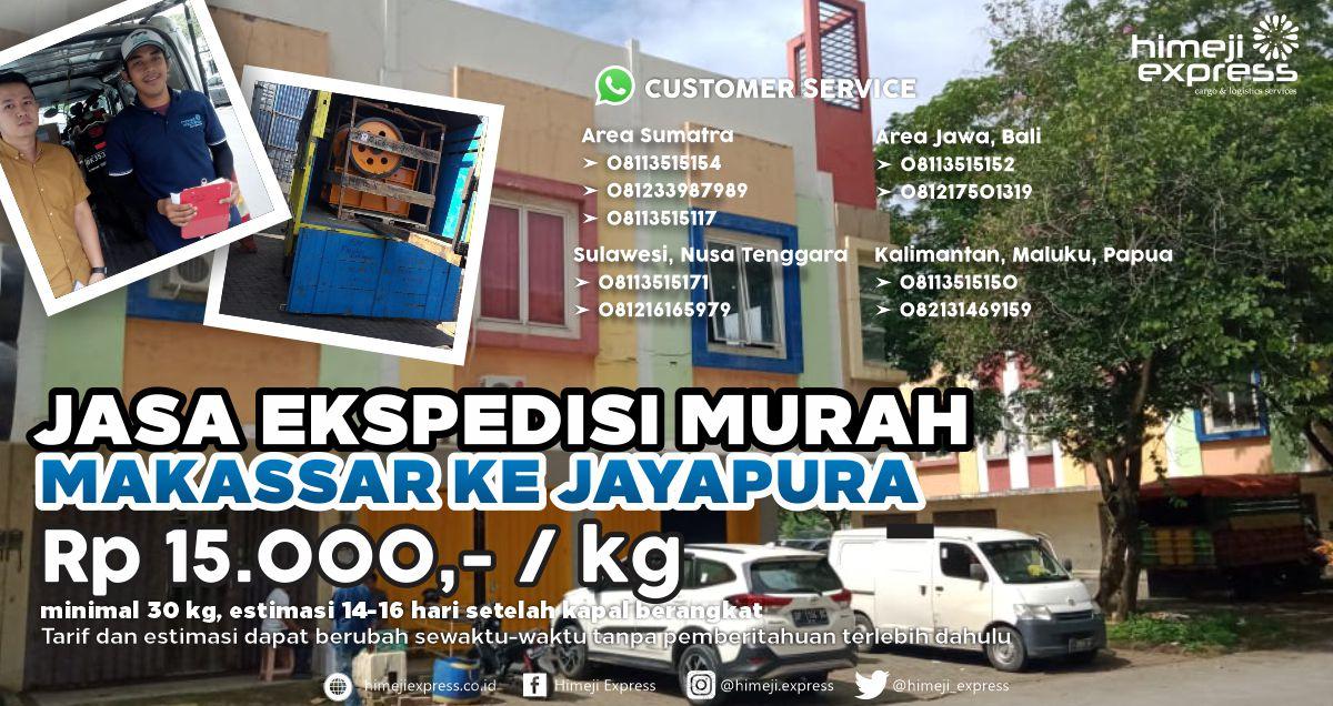 Ekspedisi Murah Makassar ke Jayapura
