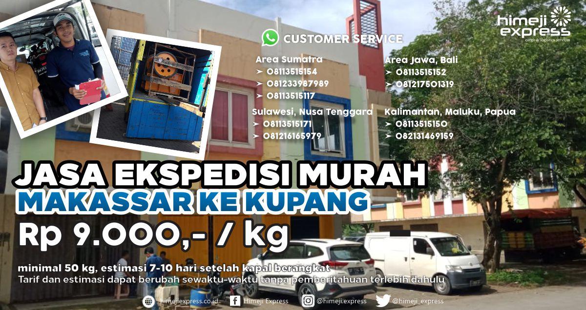 Ekspedisi Murah Makassar ke Kupang