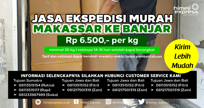Jasa_Ekspedisi_Murah_Makassar_tujuan_Banjar