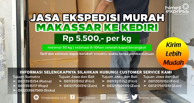 Jasa_Ekspedisi_Murah_Makassar_tujuan_Kediri